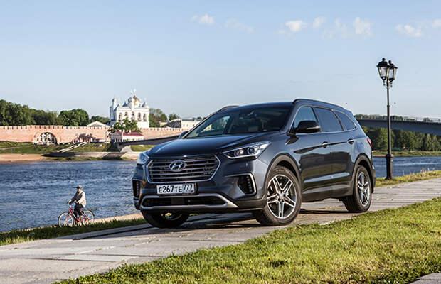 Новый Hyundai Grand Santa Fe оценили в рублях