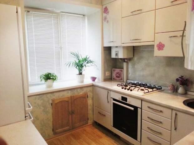 Дизайн кухни 5 кв м в хрущевке
