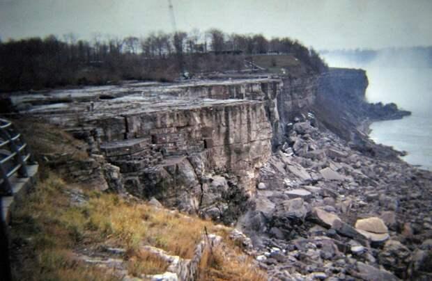 22. Осушение Ниагарского водопада в 1969 году. история, мир, фотография