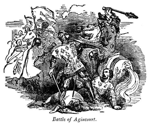Причины, по которым англичане должны были проиграть при Азенкуре