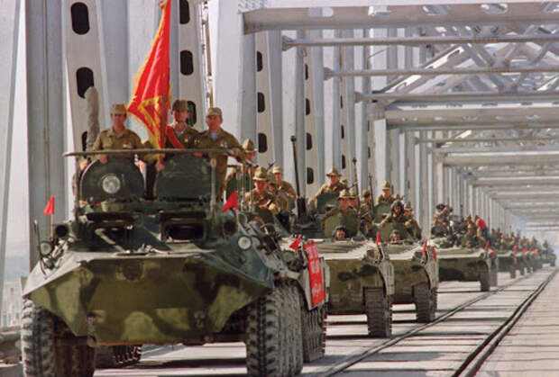 Вывод советских войск из Афганистана, 1989 год. /Фото: svoboda.org