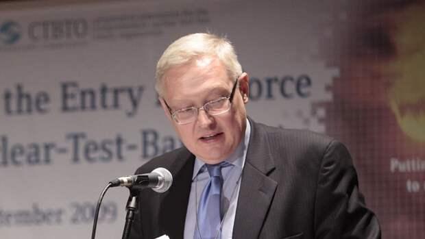 Рябков будет представлять Путина в Федеральном Собрании по вопросу денонсации ДОН