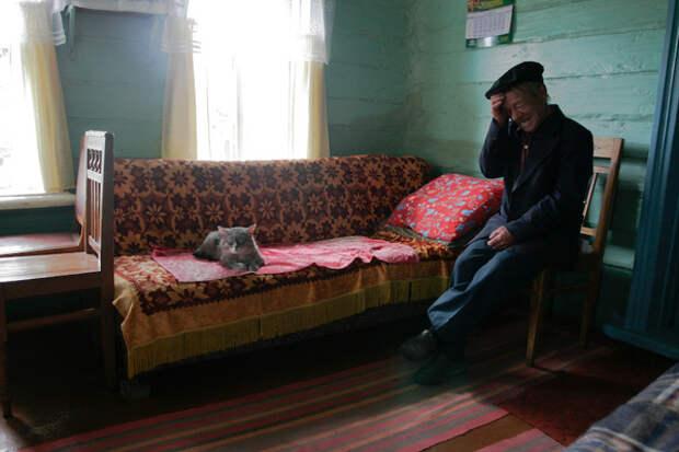 «Возле дома твоего»: российская деревня вработах Андрея Кременчука