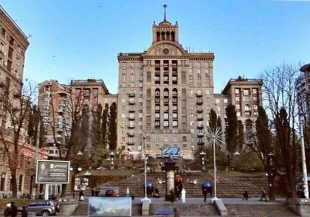Андрей Данилко подтвердил, что живет в дома на Крещатике, который является памятников архитектуры