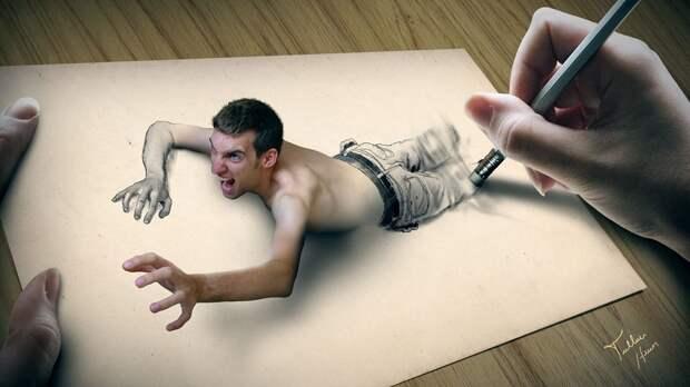 Оживающие цифровые картины Туллиуса Хейер