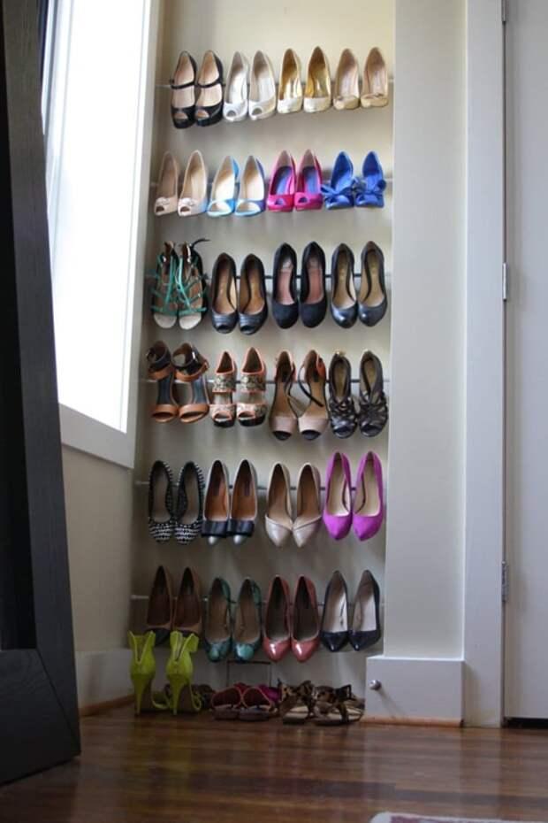 Практичные способы хранения обуви: стильно и без потери пространства