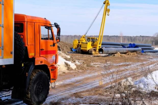 Более двух километров газопровода обновят на 4-й улице Марьиной рощи