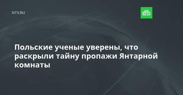 Польские ученые уверены, что раскрыли тайну пропажи Янтарной комнаты