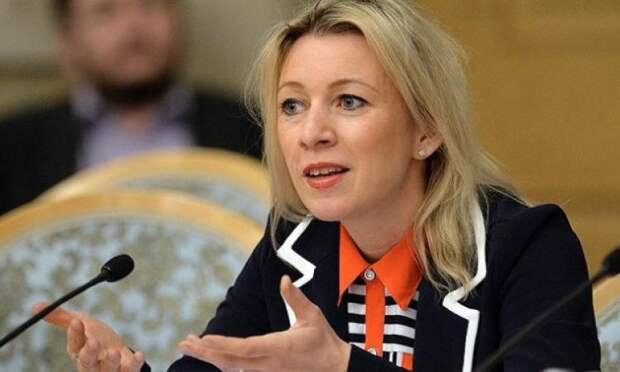 Захарова прокомментировала планы агентства Regnum подать на неё в суд