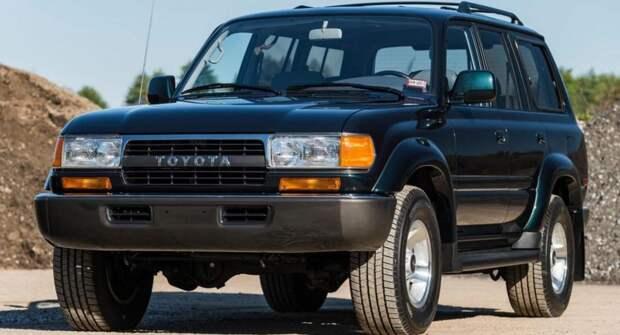 На аукцион Bring a Trailer выставили внедорожник Toyota за 80 000 долларов