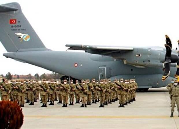 На Донбасс прибыли турецкие военнослужащие