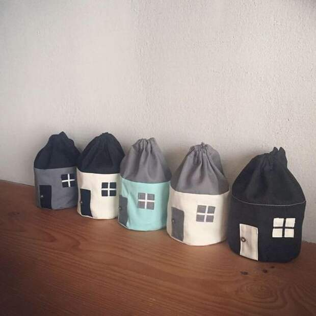 Мягкие и уютные... домики (новая подборка)