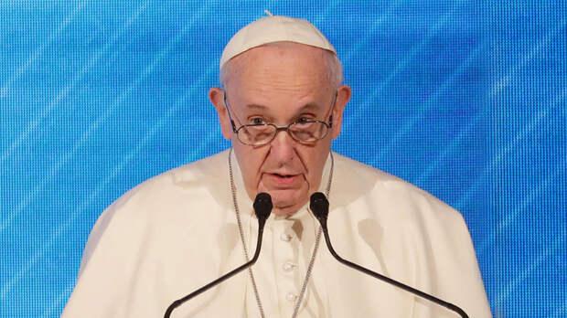 Папа Римский призвал к миру и диалогу между Израилем и Палестиной