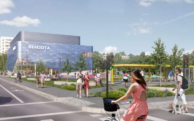 Реконструкцией здания занимается компания «ADG-group»/stroi.mos.ru/Проектное решение