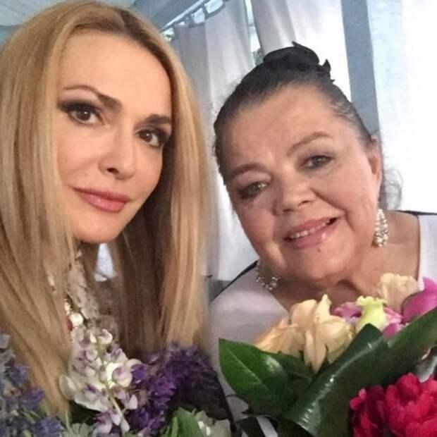 Ольга Сумская поздравила маму