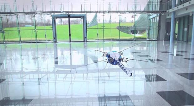 Роботизированная стрекоза BioniCopter
