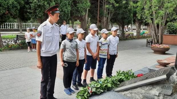 К 80-летию начала Великой Отечественной войны в Гаспре и Симеизе  состоялись памятные мероприятия