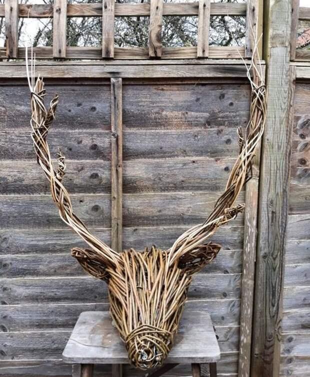 Скульптура из вербы: создаем фигурки для декорирования сада!