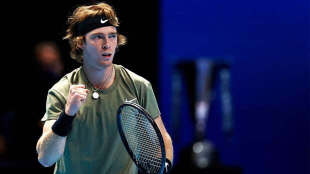 Рублев победил Тима в последнем матче на Итоговом турнире ATP