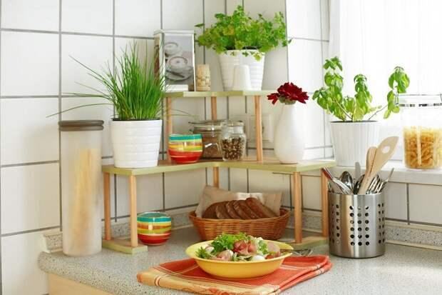 Угол на кухне удачно и очень оригинально обустроен что создает очень красивый интерьер.