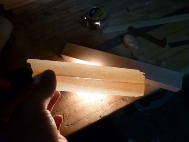 Эффектная деревянная лампа с оригинальным дизайном своими руками
