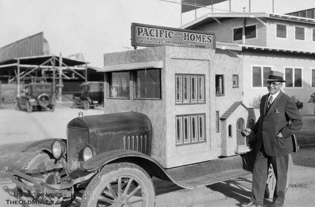 Развитие автодомов в Америке авто, автопутешествие, дом, дом на колесах, история, кемпер, потешествие, трейлер