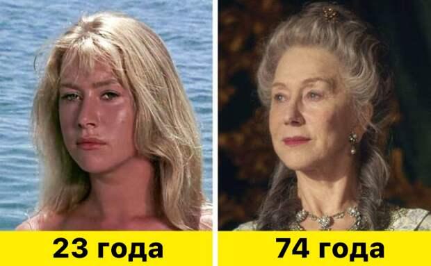 """6. Хелен Миррен - """"Совершеннолетие"""" (1968) и """"Екатерина Великая"""" (2019)"""