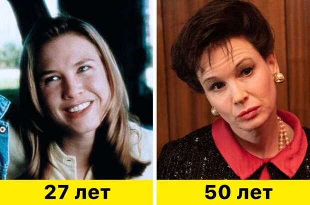 "18. Рене Зеллвегер - ""Джерри Магуайер"" (1996) и ""Джуди"" (2019)"