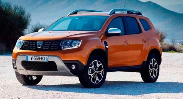Новый Dacia Duster 2021 года заметили без камуфляжа