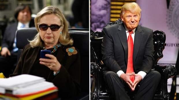 Хиллари и Трамп