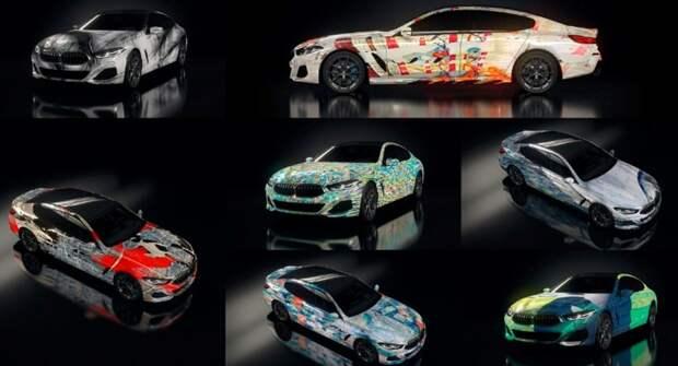 Дизайн арт-автомобилей BMW создал искусственный интеллект