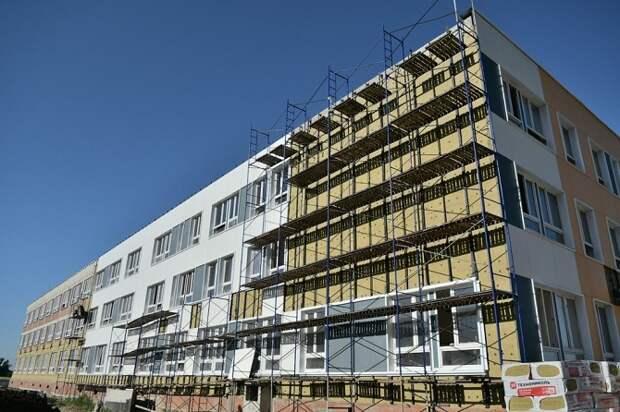 Школу в районе Западного Обхода Краснодара достроят в этом году