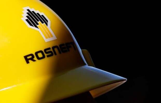 A view shows a helmet with the logo of Rosneft company in Vung Tau, Vietnam April 27, 2018. Picture taken April 27, 2018. REUTERS/Maxim Shemetov