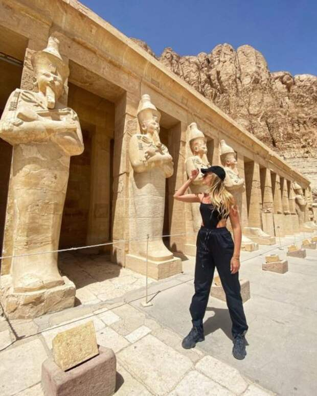 Леся Никитюк в Египте