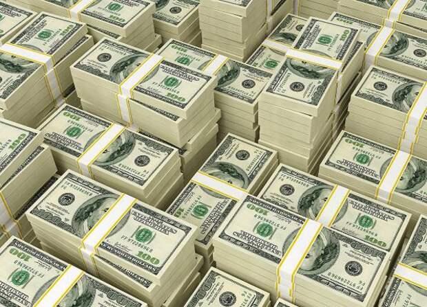 Банки ввезли в Россию рекордную сумму долларов