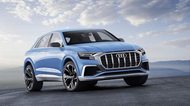 Угол зрения: концептуальный кроссовер Audi Q8 поведал о товарной модели