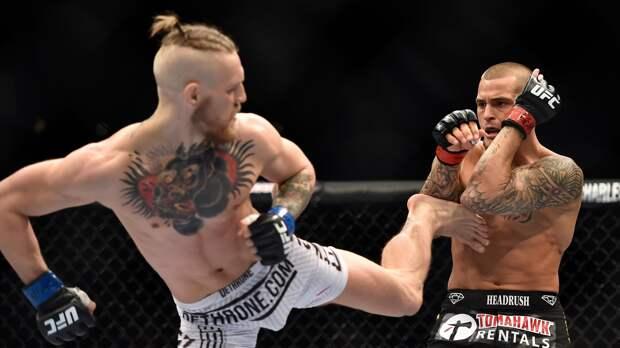 Постер UFC к бою-реваншу между Макгрегором и Порье уже появился в сети