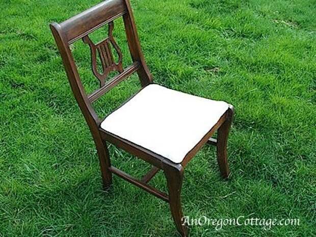Садовая скамейка из стульев своими руками
