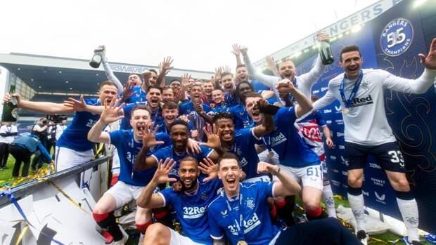 «Рейнджерс» выиграли чемпионат Шотландии без единого поражения