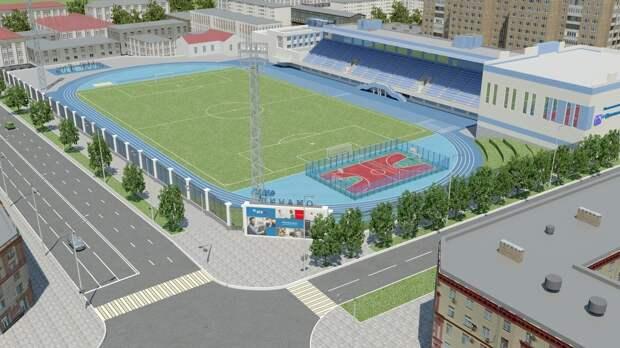 Ремонт стадиона «Динамо» в Ижевске завершится к 30 июня