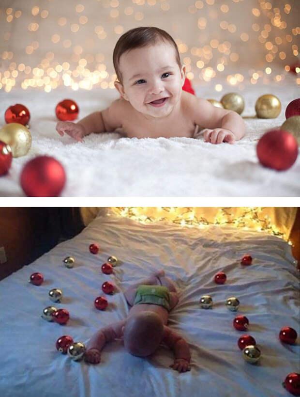 Новый год: ожидание и... дети, фото, юмор