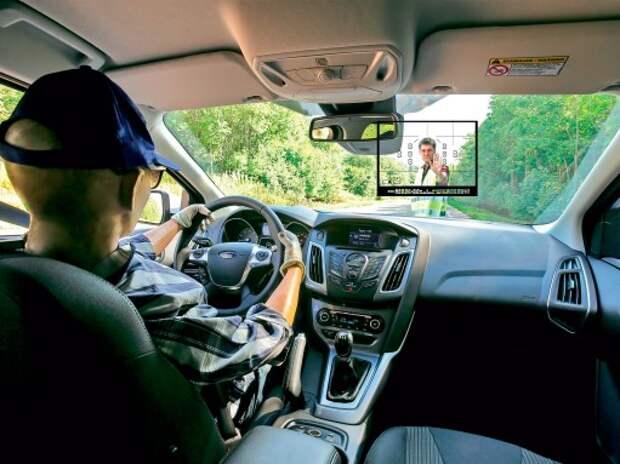 Проверяем систему автоматического торможения Ford Focus: в режиме автофокуса