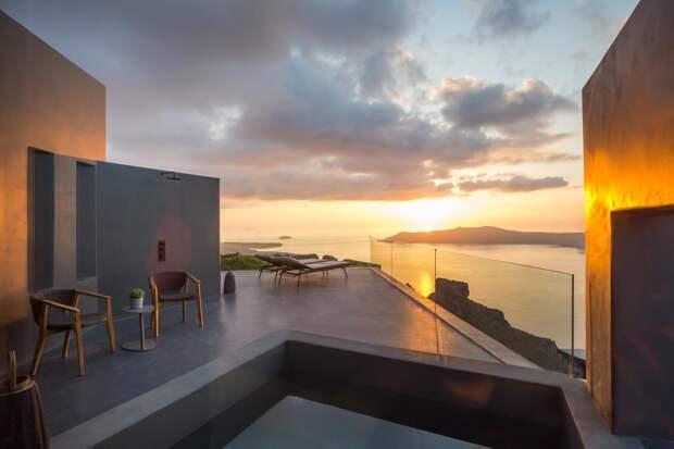 Kivotos Santorini в Греции