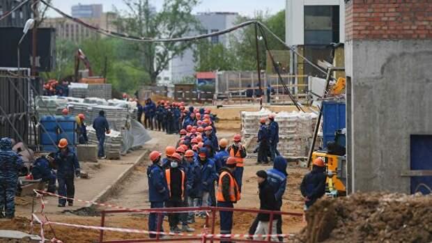 """В Москве за четыре месяца построено почти 4 млн """"квадратов"""" недвижимости"""