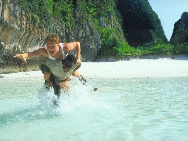 Кадр из фильма «Пляж», 2000