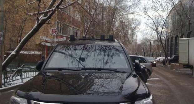 Для чего нужны черные мигалки на крыше автомобиля