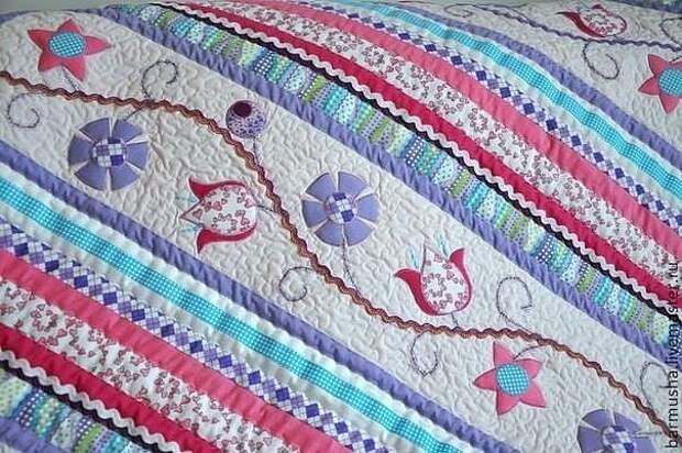 Изумительное лоскутное шитье от Бармуша (Анастасия)