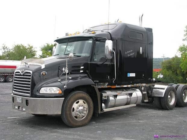 В кабине - как дома. Самые крутые грузовики. грузовик, кабина, комфорт