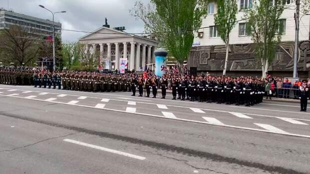 Донбасс празднует День Победы