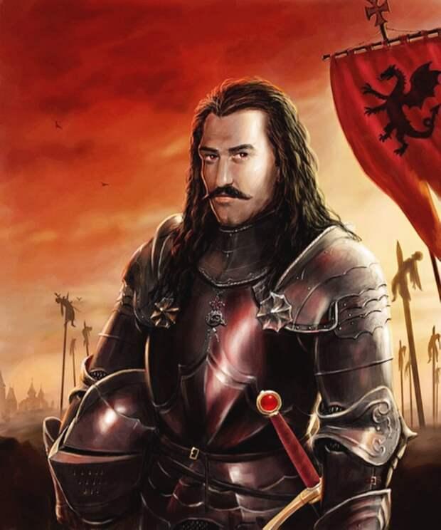 Князь Вампиров:  Дракула Влад III цепиш (кол) кровопийца.